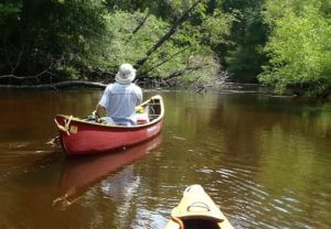 Mississippi Canoe Trip @ Hidden Falls